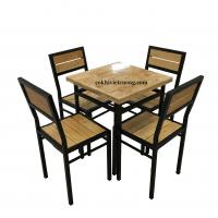 Bàn ghế nhà hàng quán ăn