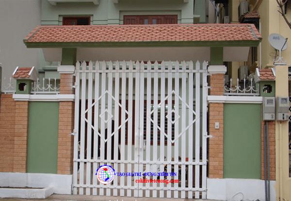 mẫu cửa cổng sắt đẹp mới nhất