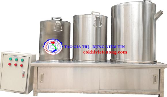 3 mẫu phổ biến Nồi nấu phở bằng điện cơ khí Việt Cường