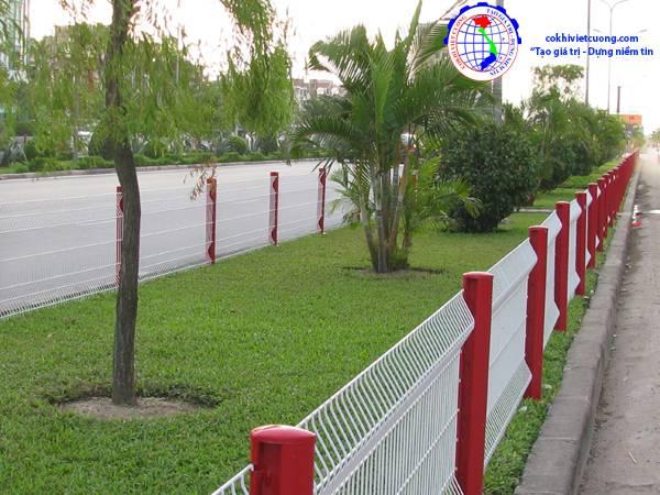 hàng rào công viên