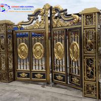 Mẫu cổng inox đẹp hiện đại