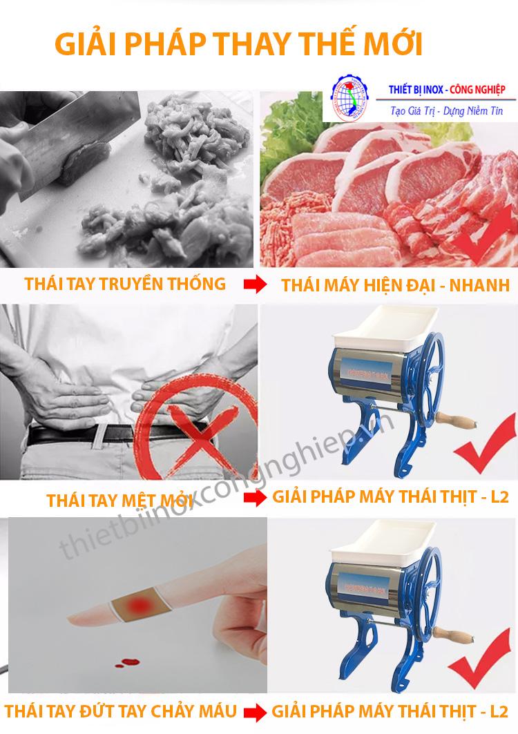 Máy cắt thịt đa năng,giải pháp tối ưu cho người sử dụng