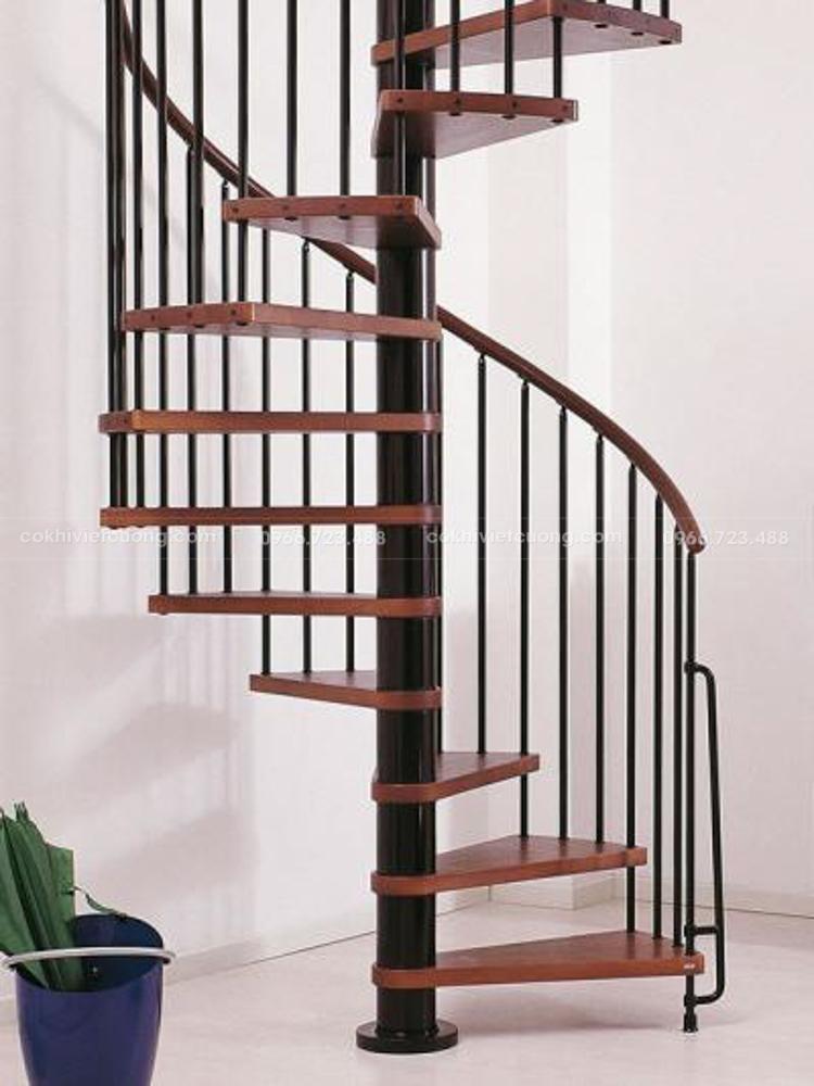 Cầu thang xoắn ốc phù hợp với mọi không gian