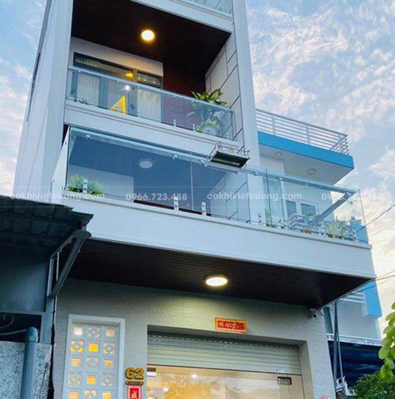 Quy định về lan can ban công với công trình dưới 9 tầng
