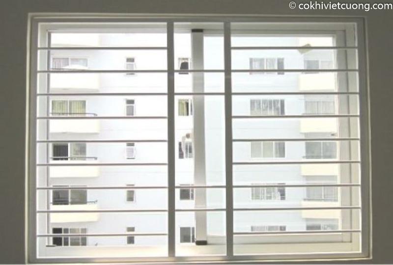 Mẫu khung sắt bảo vệ cửa sổ chung cư